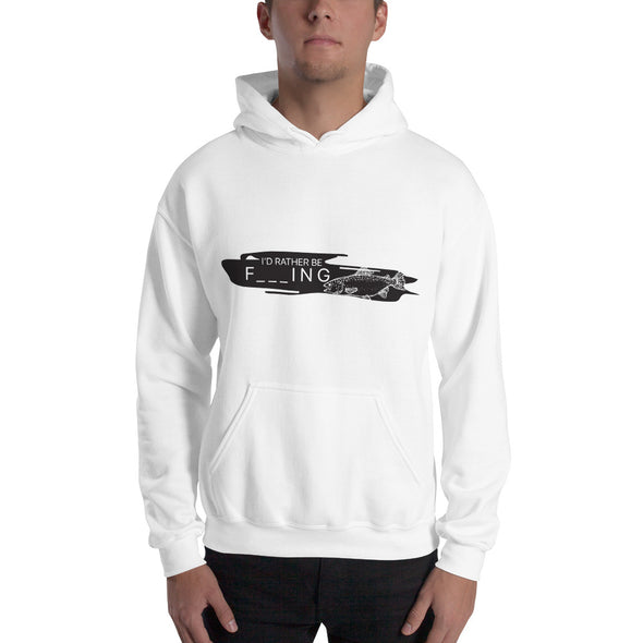 I'd rather be F _ _ _ ING - Herren Hoodie