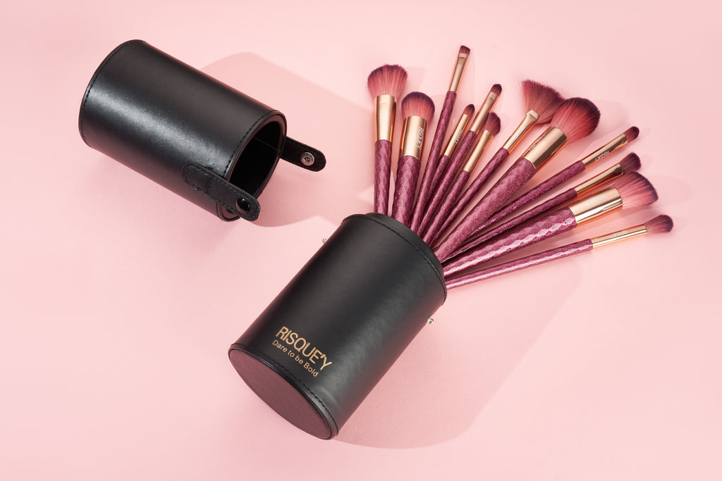 Risque'y Luxury Rose Gold Brush Set
