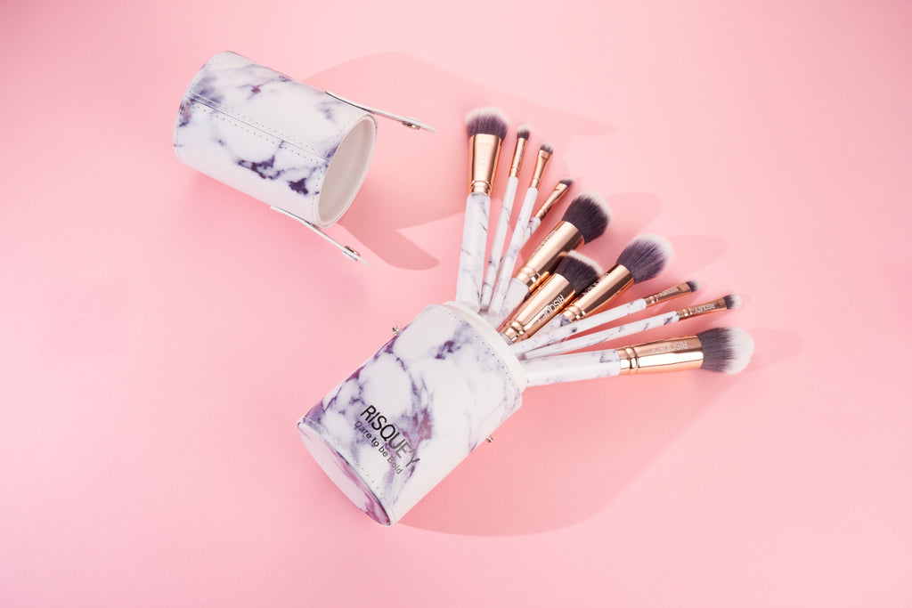Risque'y Marble Brush Set
