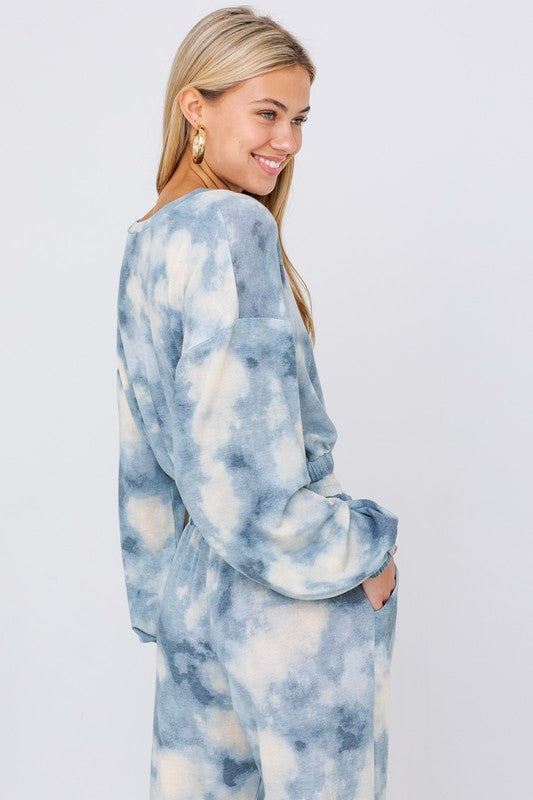 Malibu Tie-Dye Sweat Set