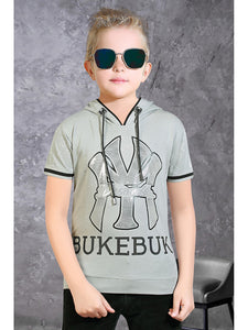 Hood T-Shirt For Boys