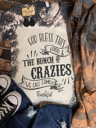 Harvest Wheat Distressed Flannel - Southern Swank Wholesale