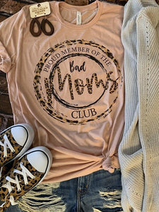 Bad Moms Club Tee - Southern Swank Wholesale