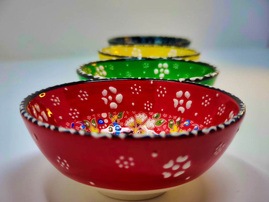 "5"" Ceramic Bowls(Set of 4)"