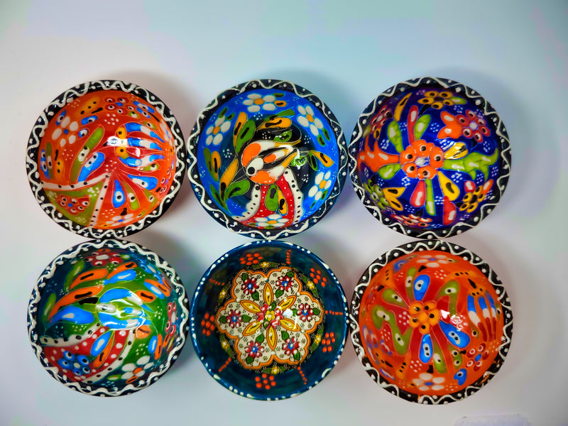 "3"" Ceramic Bowls(Set of 6)"