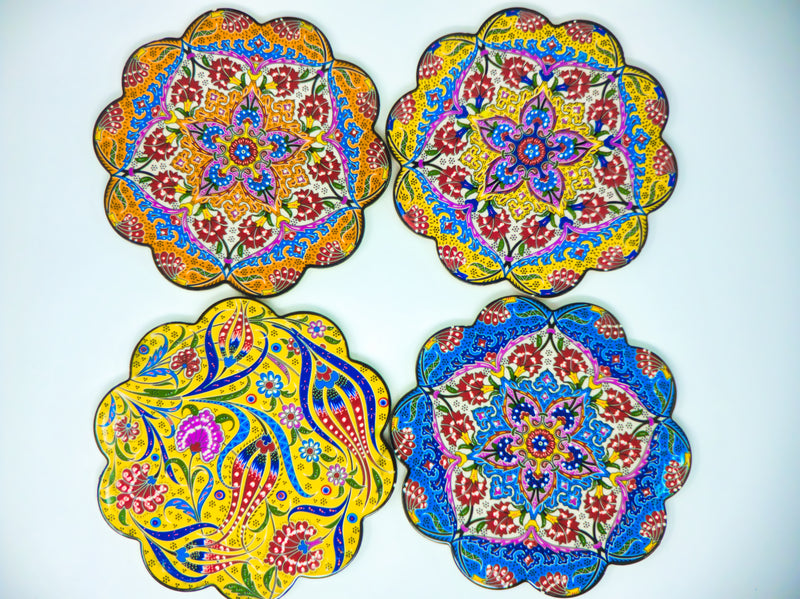 "7"" Ceramic Coasters(Set of 2)"