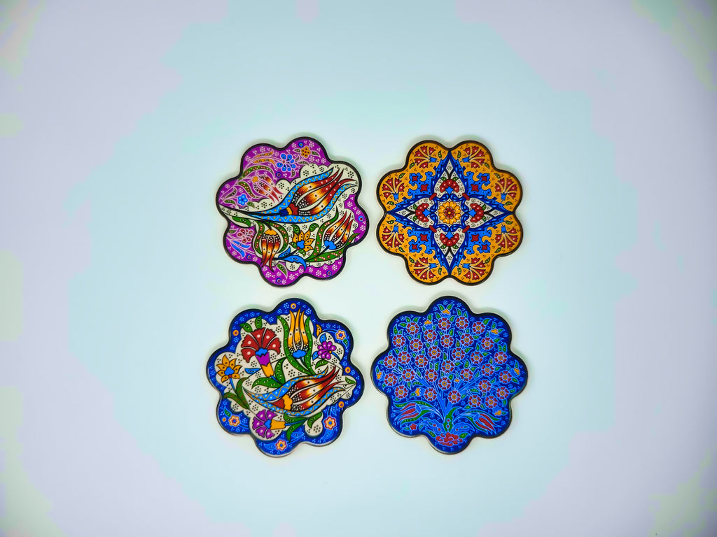 "4""Ceramic Coasters(Set of 4)"