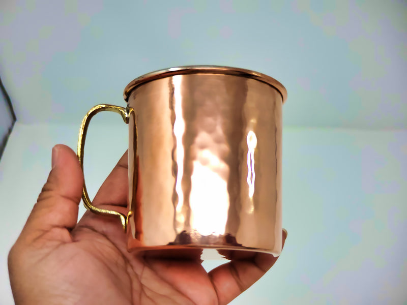 Plain Copper Mugs