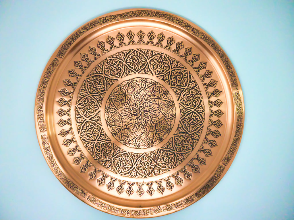 Turkish Copper Trays