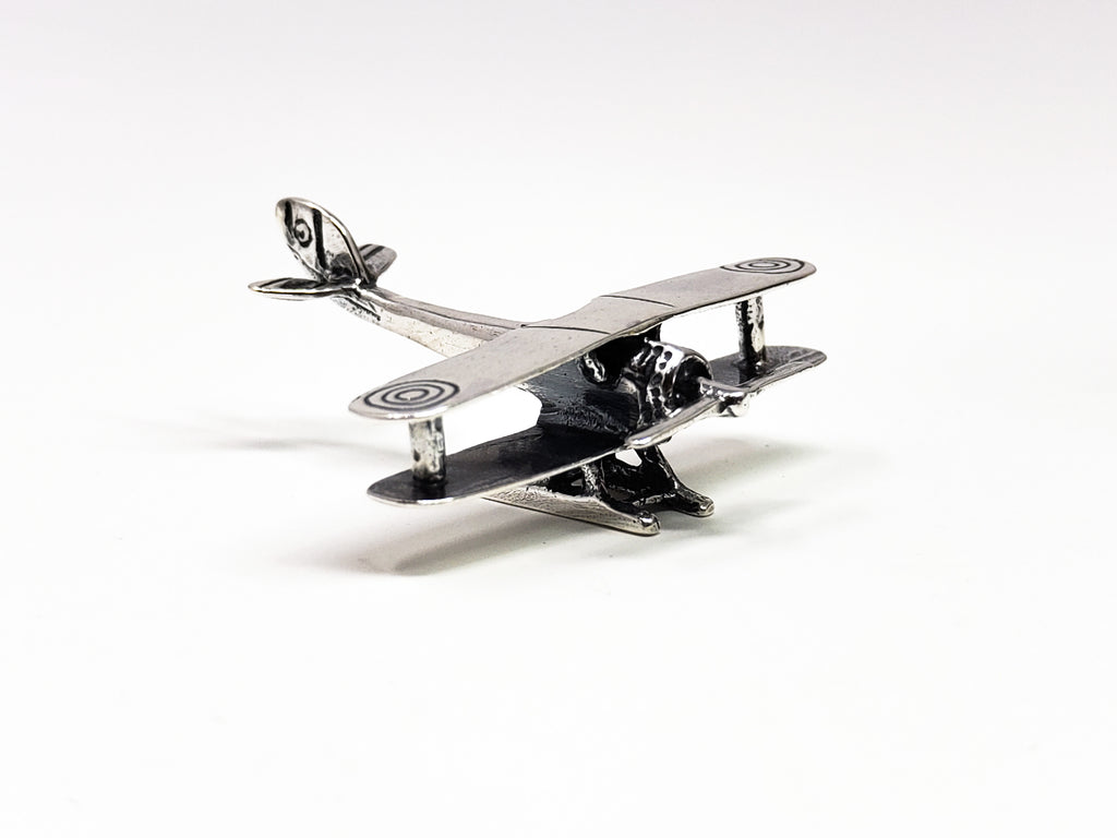 Sterling Silver Aircraft Miniature