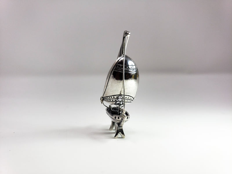 Sterling Silver Miniature Sail Boat
