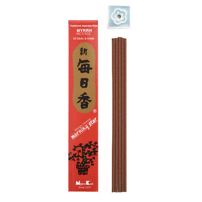 Morning Star Incense - Myrrh