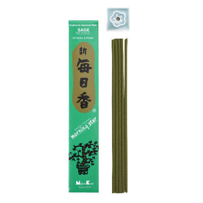 Morning Star Incense - Sage