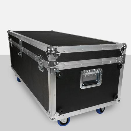 A shipping case to protect your kiosk during travel.