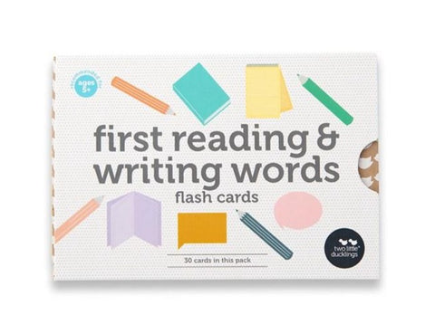 Two Little Ducklings - First Reading & Writing Words Flash Cards