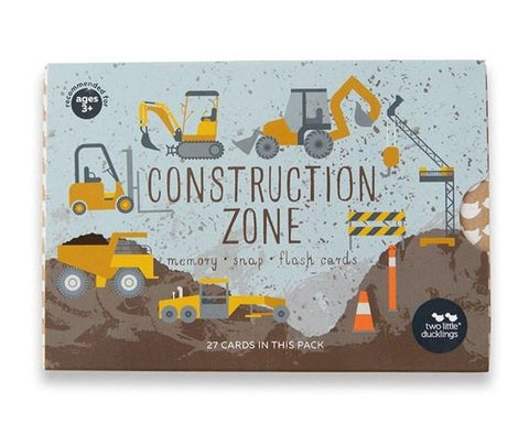 Two Little Ducklings - Construction Zone Snap and Memory Game