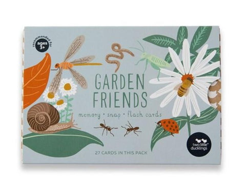 Two Little Ducklings - Garden Friends Snap and Memory Game