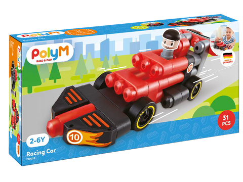 Poly M - Racing Car Kit