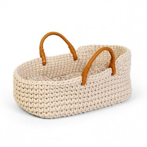 Astrup - Knitted Doll Carrier Basket  - 35cm