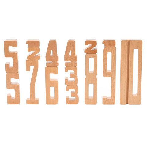 Astrup - Wooden Educational Numbers