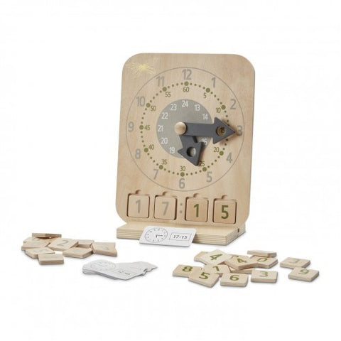 Astrup - Wooden Educational Clock Set