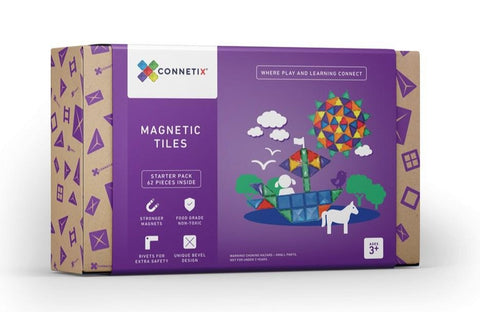 Connetix - 62 Piece Pack Set