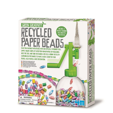 4M - Green Science - Recycled Paper Beads