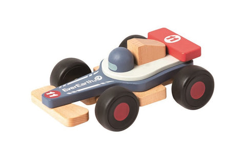EverEarth - Wooden Racing Car