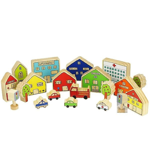 The Freckled Frog - The Busy Village Set