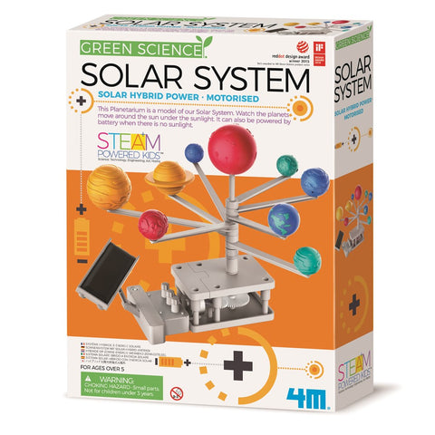 4M - Green Science - Solar System Toy