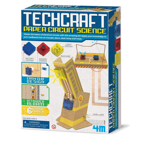 4M - Techcraft - Paper Circuit Science