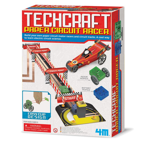 4M - Techcraft - Paper Circuit Racer