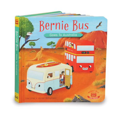 Indigo Jamm - Bernie Goes to Australia Book