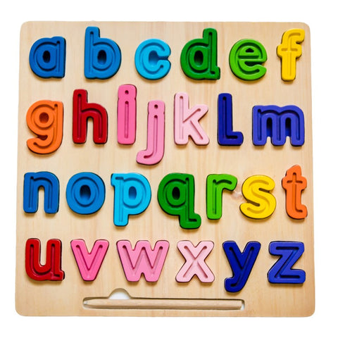 Kiddie Connect - abc (Lowercase) Chunky Tracing Puzzle