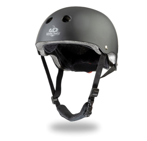 Kinderfeets - Toddler Bike Helmet - Matte Black