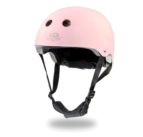 Kinderfeets - Toddler Bike Helmet - Matte Rose