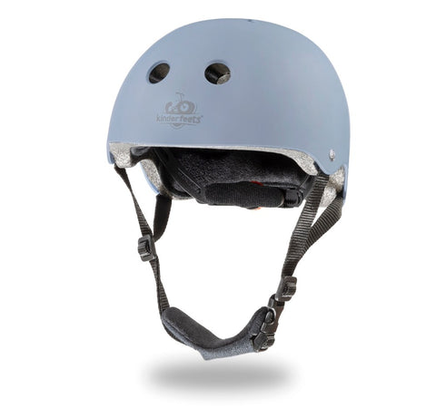 Kinderfeets - Toddler Bike Helmet - Matte Slate Blue
