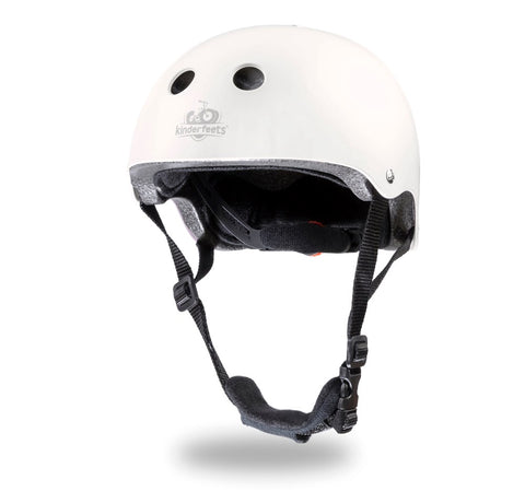 Kinderfeets - Toddler Bike Helmet - Matte White