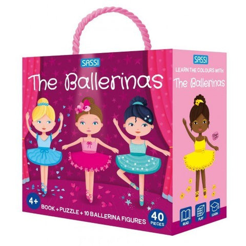 Sassi - 3D Puzzle - The Ballerinas