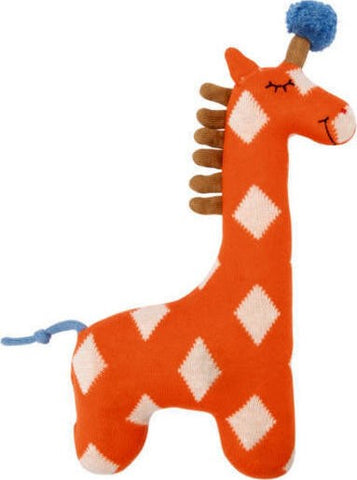 Spiegelburg - Knitted Orange Giraffe