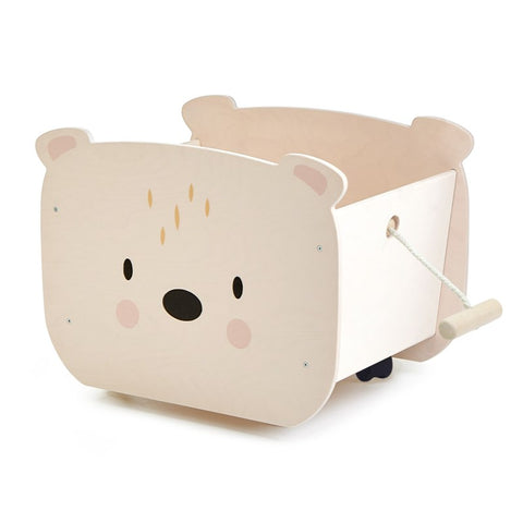 Tender Leaf - Pull Along Bear Cart