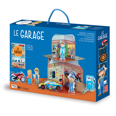 Sassi - Garages 3D and Book