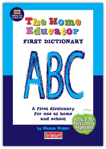 Home Educator Book - My First Dictionary