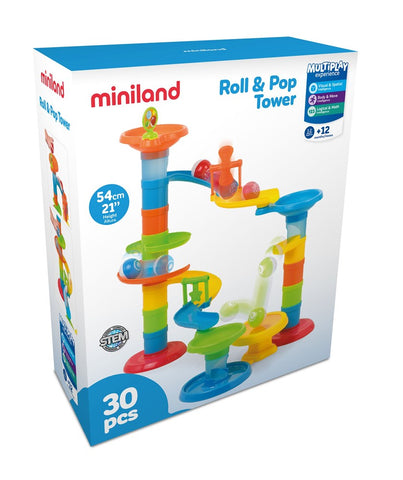 Miniland - Roll and Pop Tower