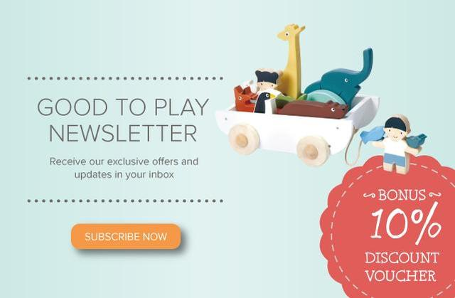 Subscribe to the Good To Play newsletter 10% off first order