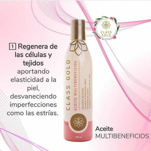 Aceite multibeneficios 120 ml Aceites Class Gold