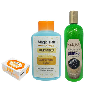 KIT CABELLOS GRASOS BLACK Kits cabellos grasos Magic Hair