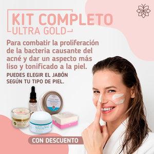KIT FACIAL COMPLETO ULTRA GOLD Kits faciales Class Gold