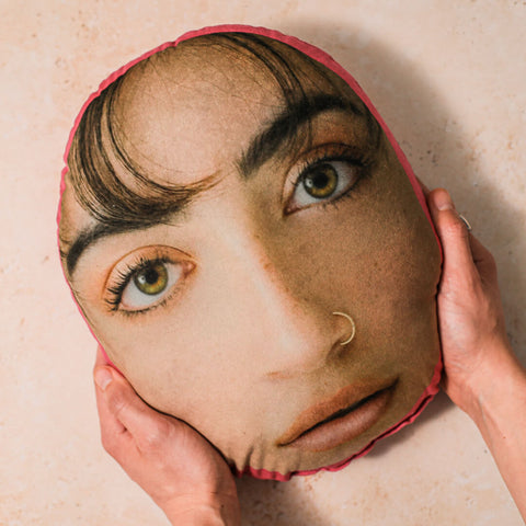 Face Cushion gift of a Woman