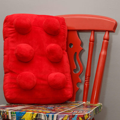 Building Block CushionRed